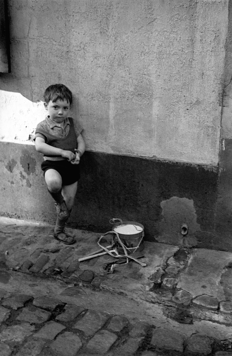 Boy Leaning Against Wall, 1937