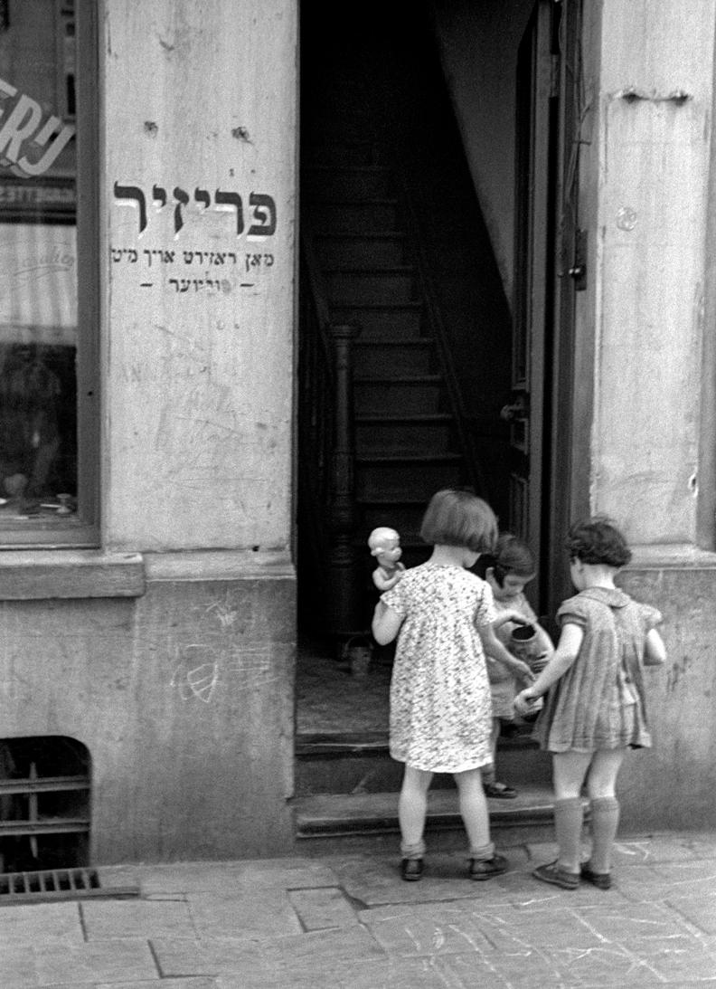 Jewish Quarter Antwerp, 1937