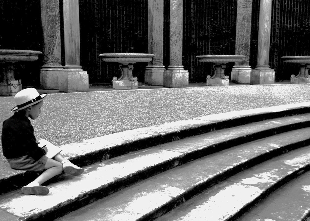 Child on Steps, 1935