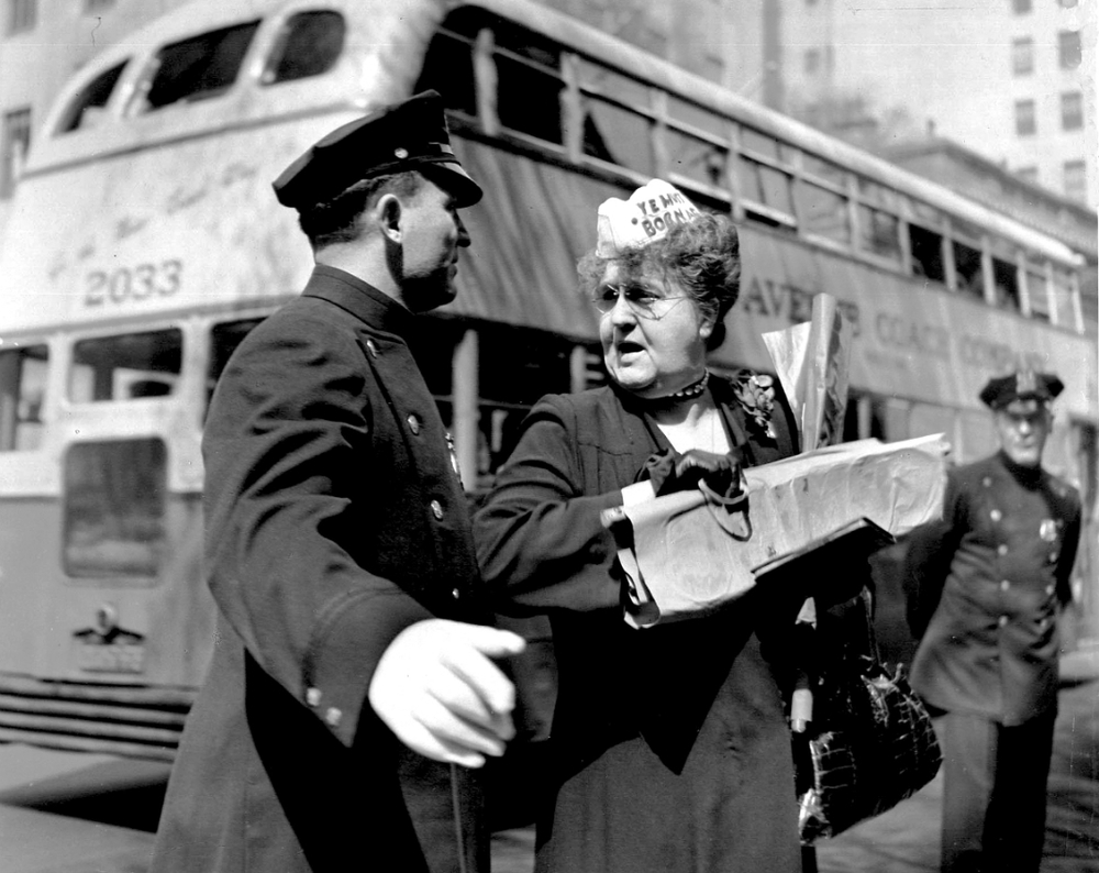 Woman and Cop, 1945