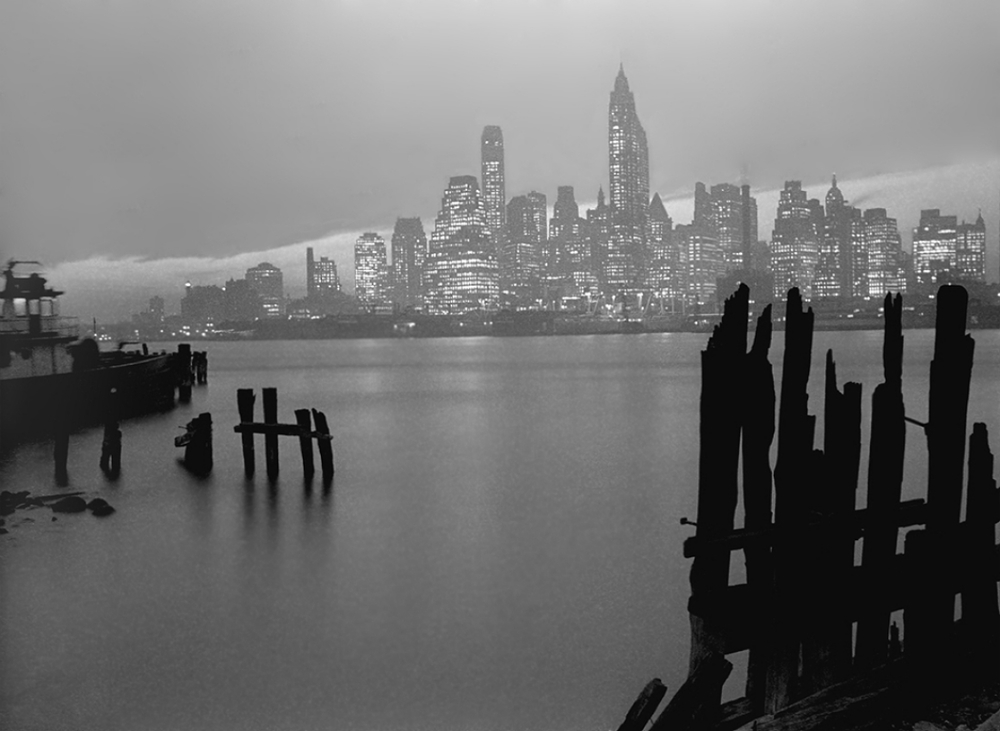 Manhattan Skyline, 1946