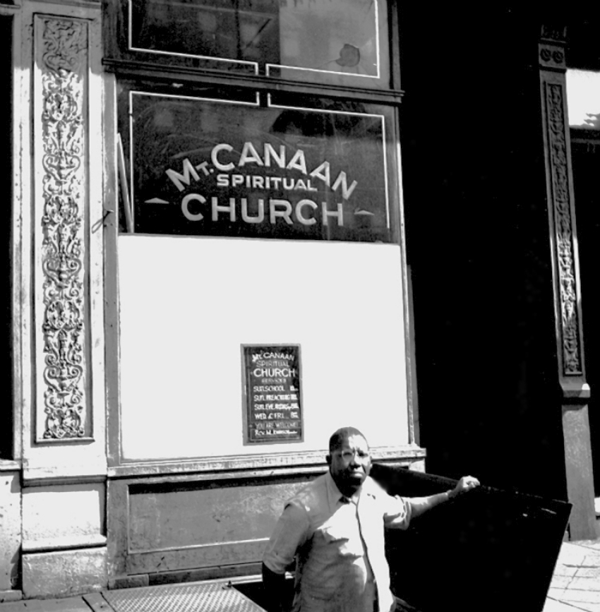 Mt. Canaan Spiritual Church, 1949
