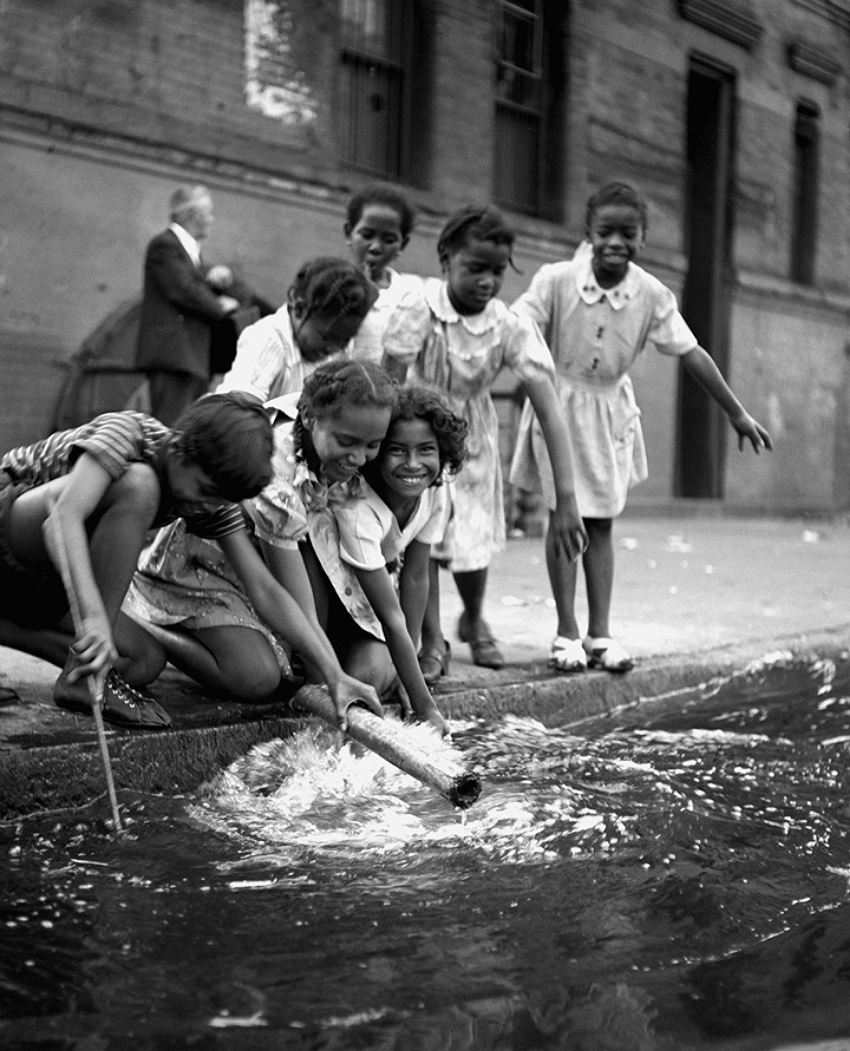 Children in Harlem, 1947