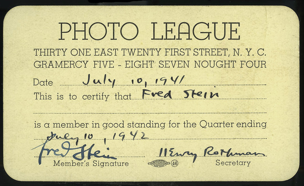 Fred-Photo League Card 1941.jpg
