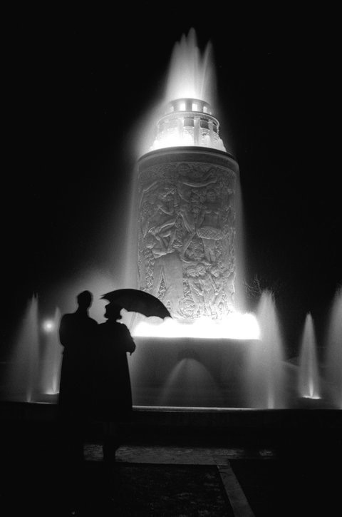 """Fountain""  Paris 1935   Estate of Fred Stein"