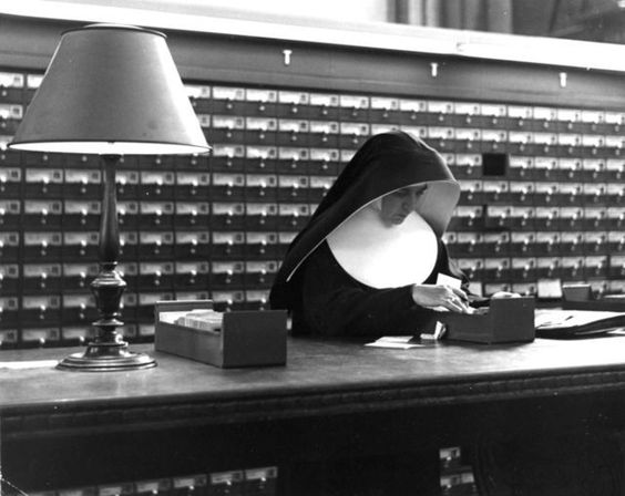 """Nun""  New York, 1942      Estate of Fred Stein"