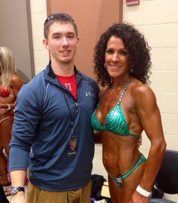 My client Teresa Rosiere Martin 47 years young mother of 7 AND Oklahoma Grand Prix Masters 40 & over winner.