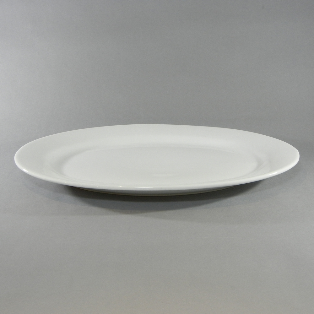 Porcelain Oval Platter - D (22''x15'')
