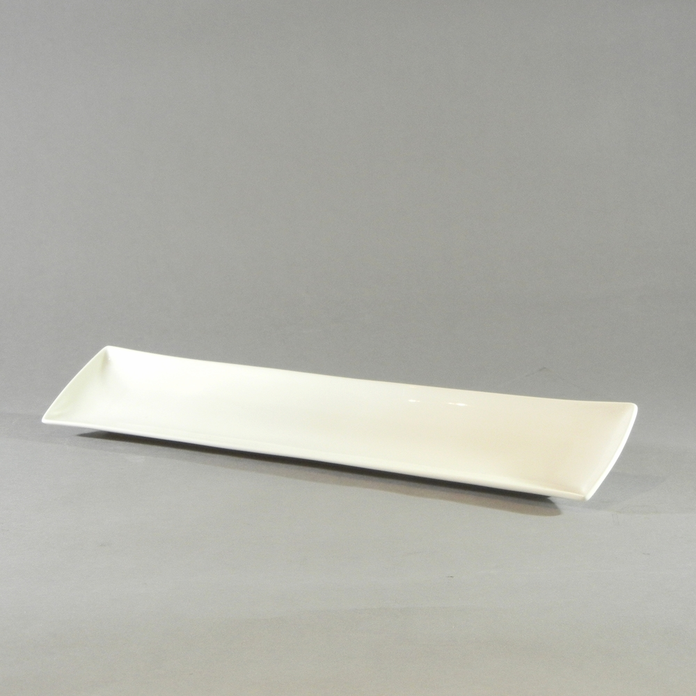 White Rectangular Tray (8''x2.25'')