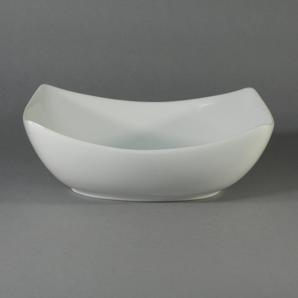 "Porcelain Rectangular Bowl - Y (10.5""x8"")"