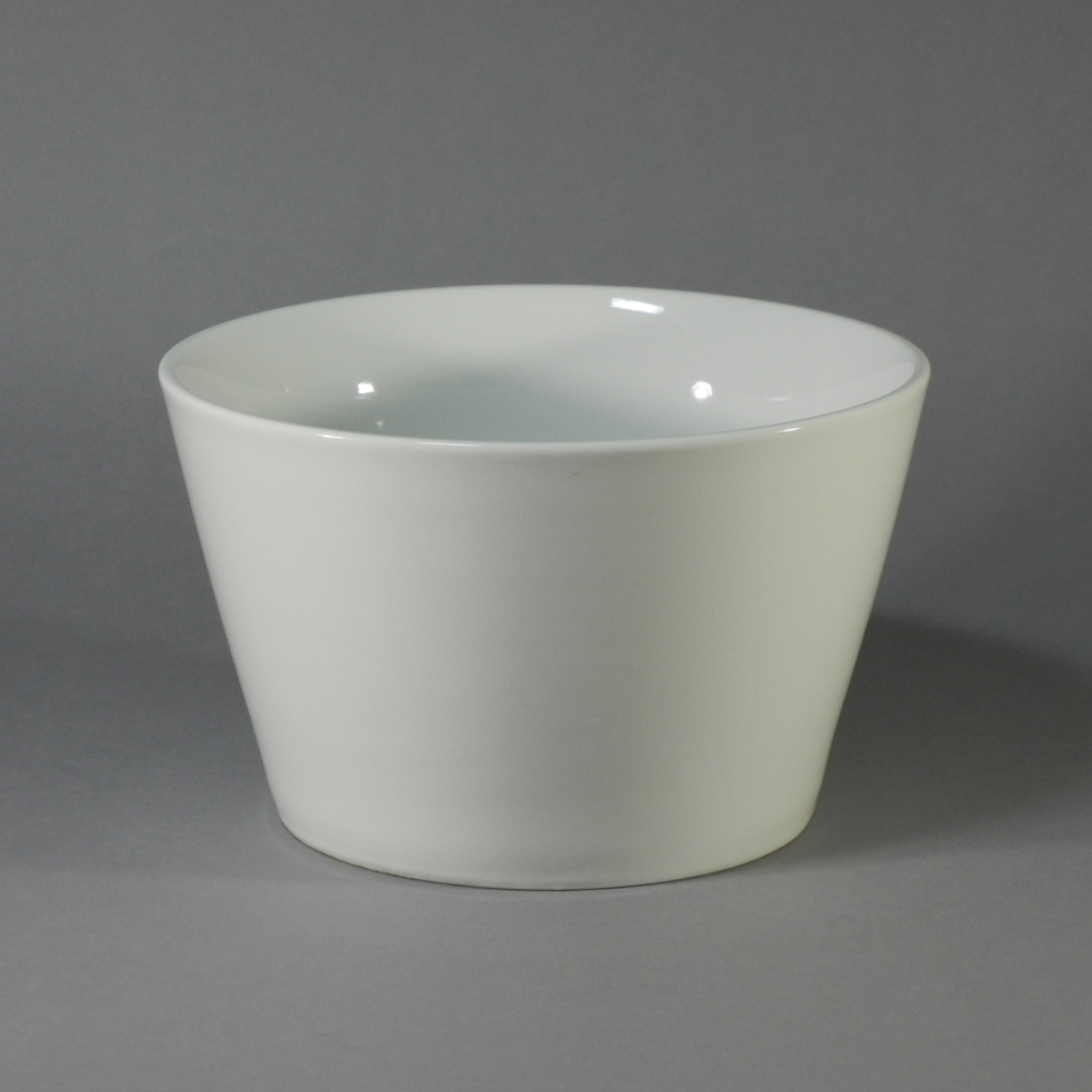 "Porcelain Round Bowl - R 3 Quart - (8.5""x5.5"")"