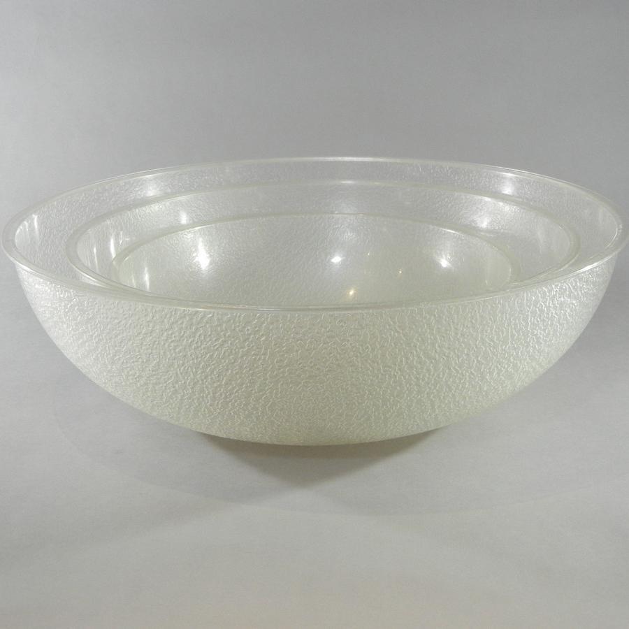 Plastic Pebble Bowls