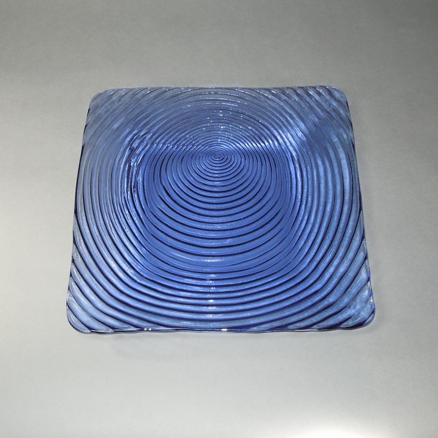 Square Plates - Violet Blue