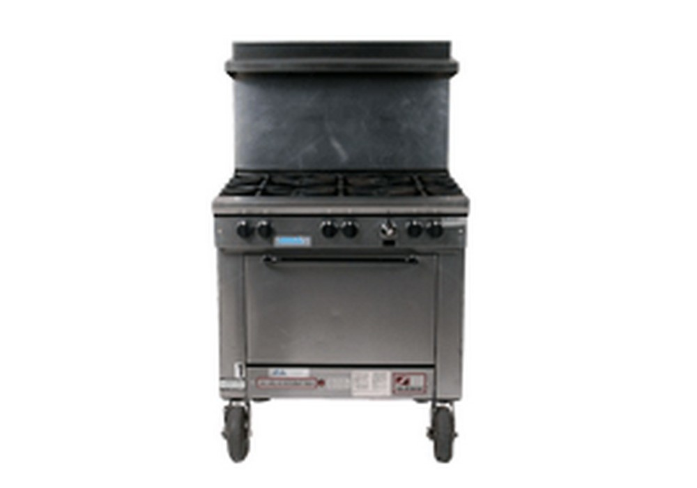 6 Burner Single Oven Range (Propane)