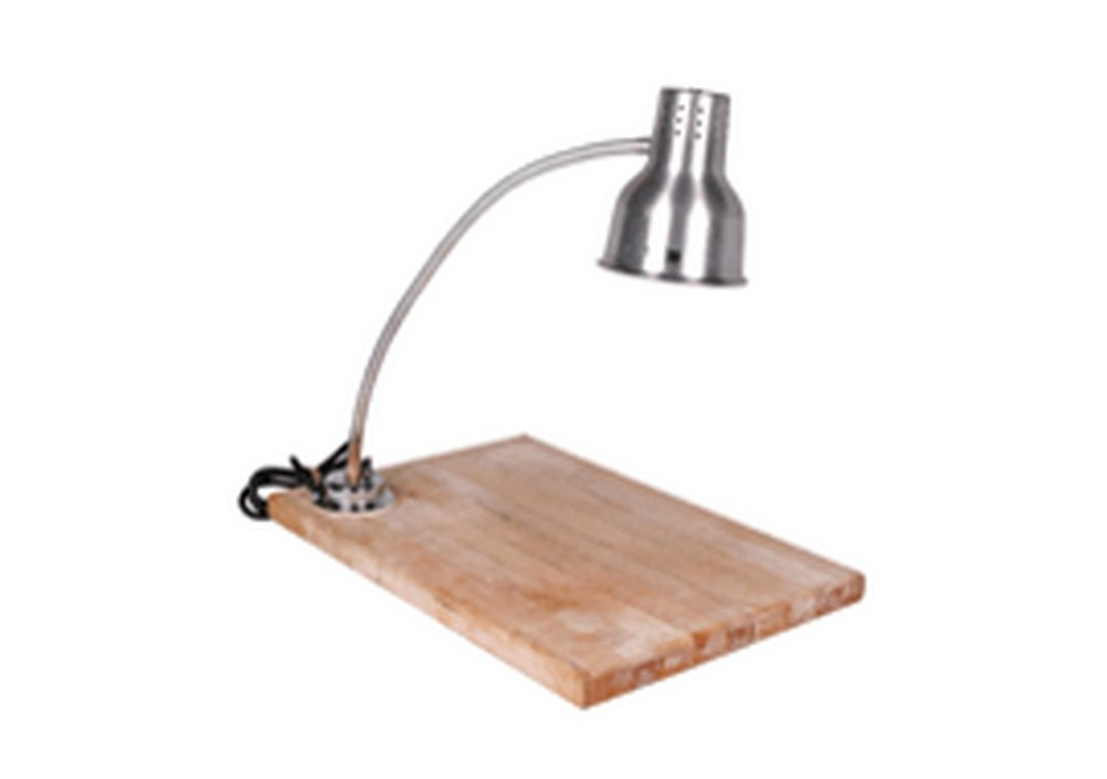 Carving Board with Heat Lamp