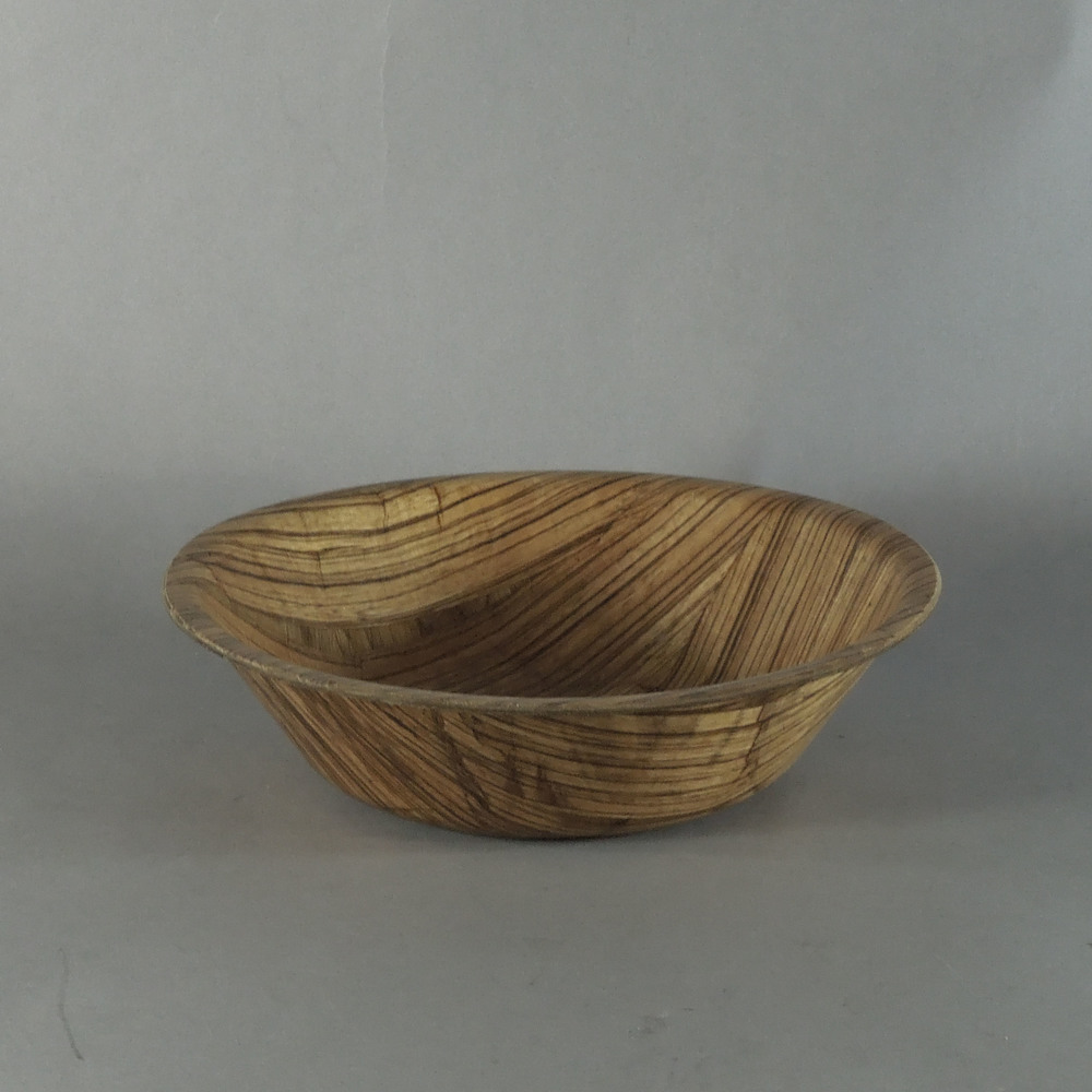 "Zebra Bowl - T (""9.5x2.5"")"