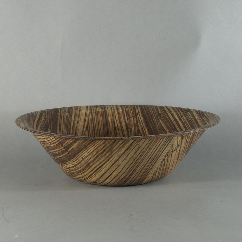 "Zebra Bowl - S (12""x3.5"")"