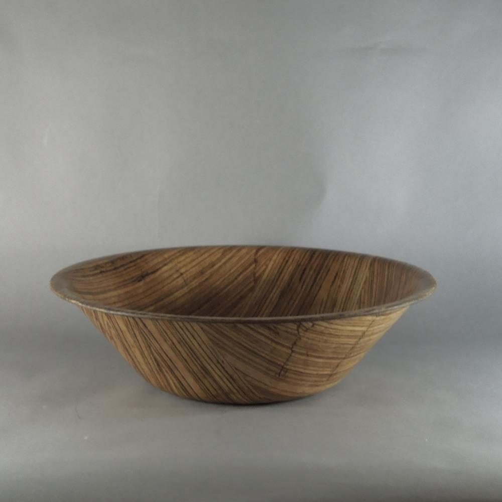 """Zebra Bowl - O (18""""x5"""")"""
