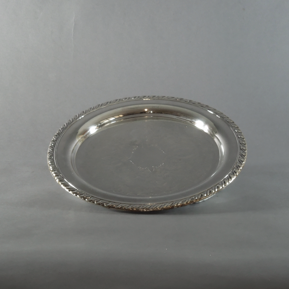 Silverplate Tray (10'')