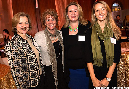 Event Coordinators (Left to Right): Roberta O'Donnell, Nancy Mead, Emily Davis, & Sarah Johnson