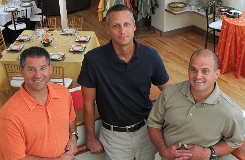 Ownership Team (Left to Right): Lon Finkelstein, CFO Michael Lubas, CEO Michael Solomon, COO