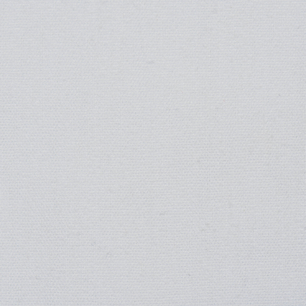 White (available plain or demask)