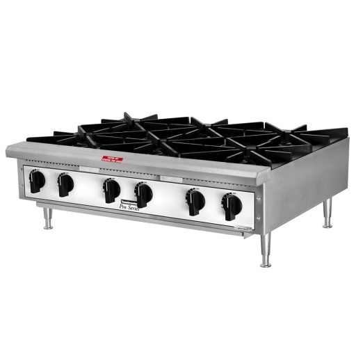 6 Burner Tabletop Range with Propane