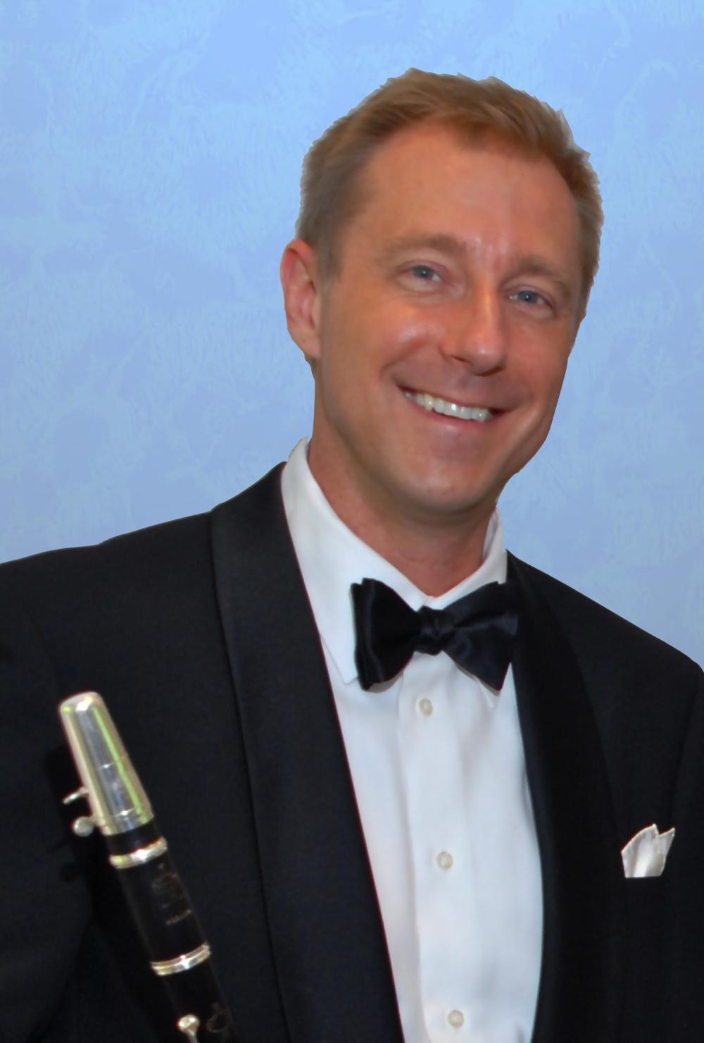 Donald Mokrynski, clarinet