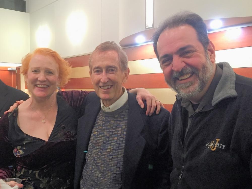 Margaret, Bob McGrath & John Palatucci