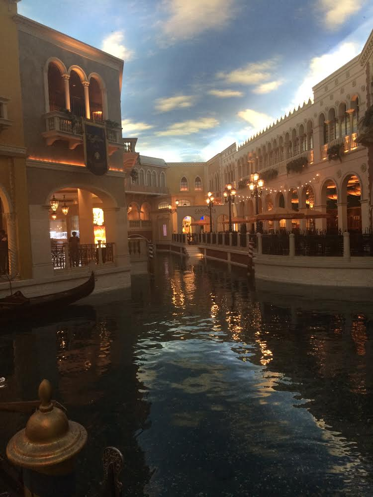 Always in love with the Venetian.