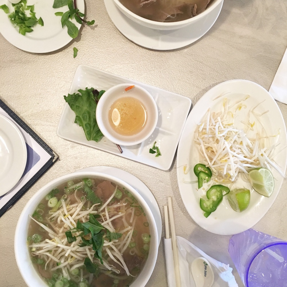 Our favorite winter food: pho. And totally paleo compliant if you are #teamwhiterice