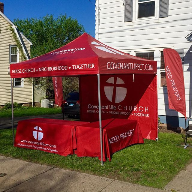 Coming to a community event near you! #CovenantlifeCT #housechurch #neighborhood #together