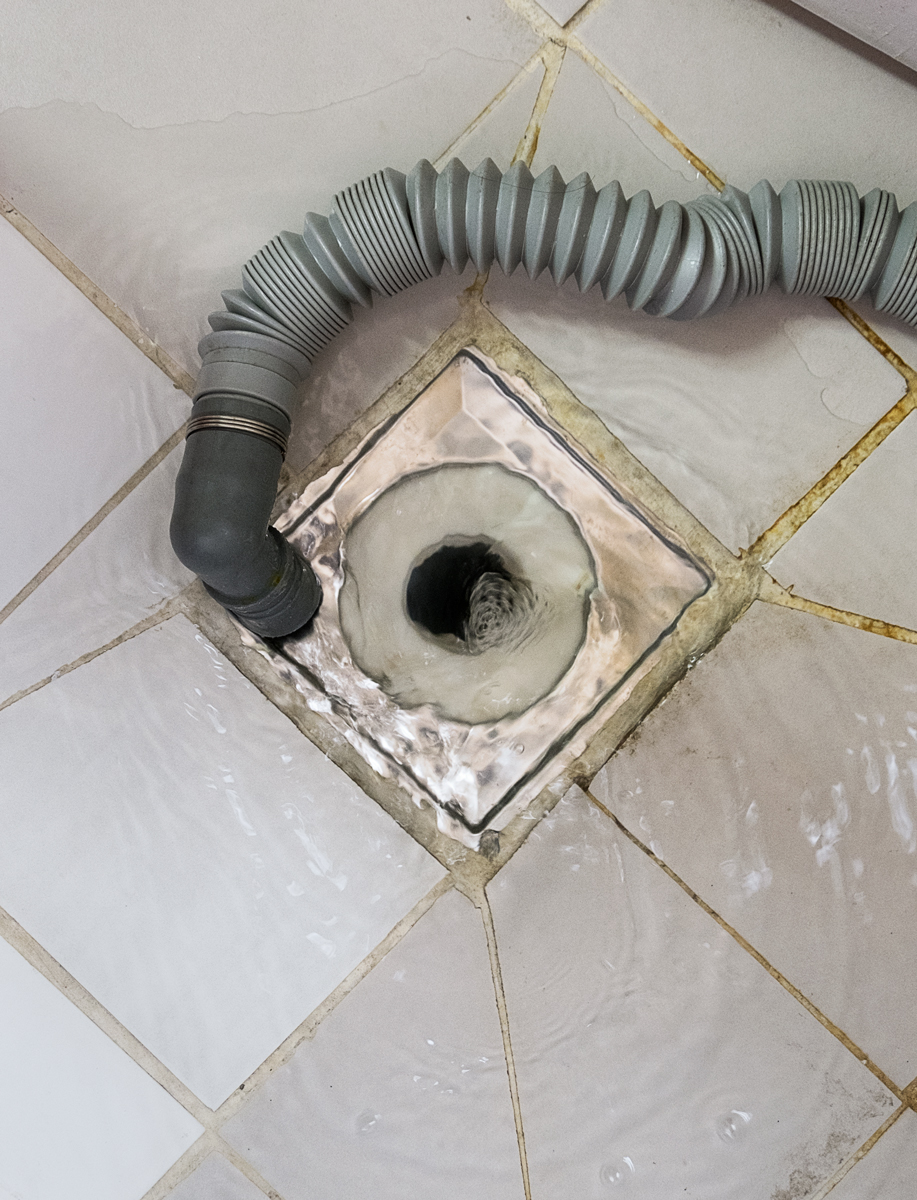 DOMESTICS: Blocked Drain Drinking Laundry Water, 2017, South Kor