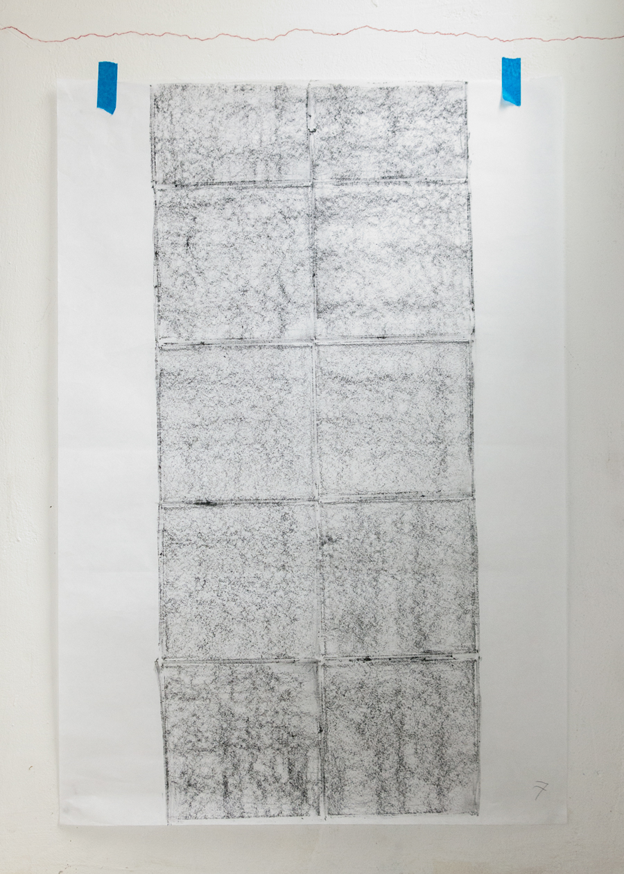 DOMESTICS: Map of the Studio Floor in Eight Parts 7/8, 2018, Sou