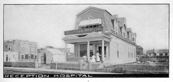 Reception Hospital, which appears in  Magruder's.