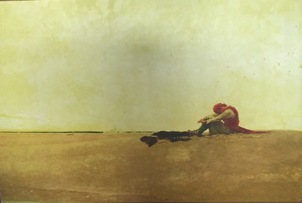 """marooned""-Howard Pyle, 1909"