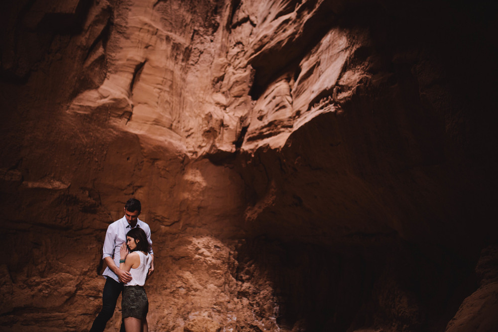 Niki & Derek -- Goblin Valley Love Story -- Whitney Justesen Photography-31.jpg