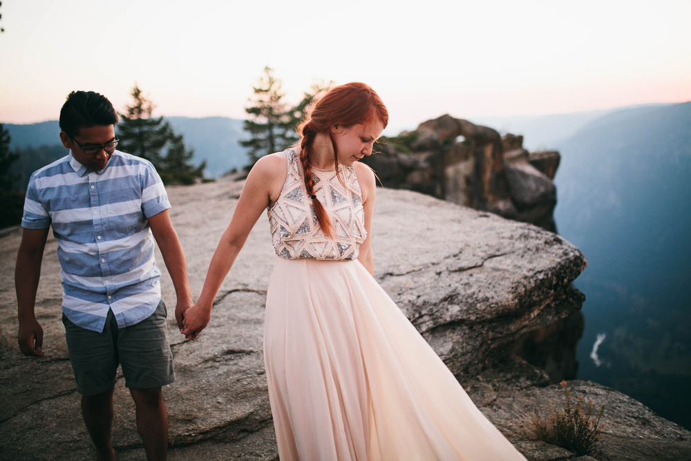 Anna & Vien -- Yosemite National Park Love Story -- Whitney Justesen Photography-103.jpg