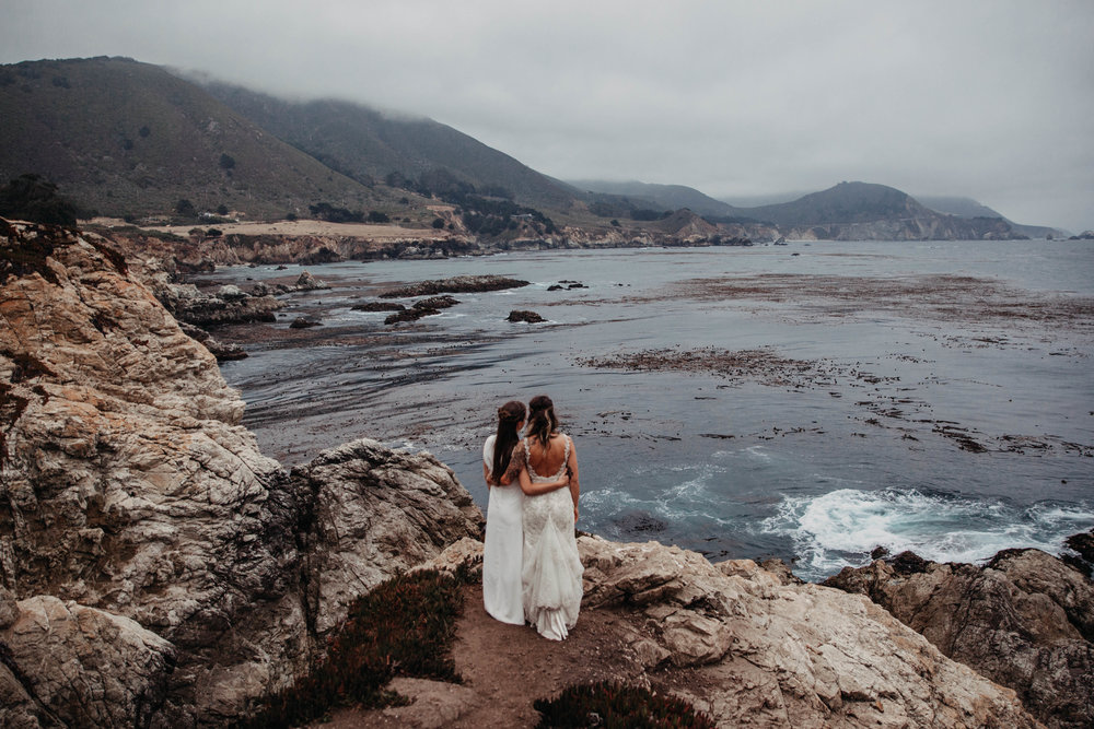 Meaghan + Jen -- An Intimate Big Sur Elopement -- Whitney Justesen Photography-309.jpg