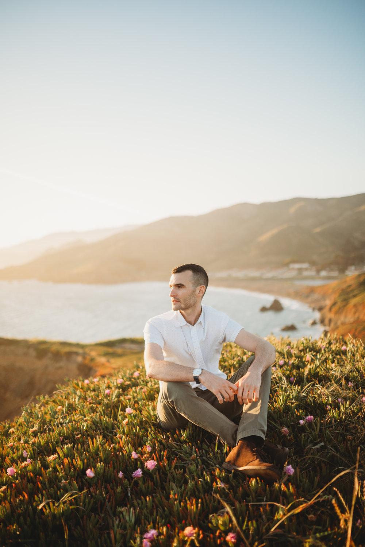 Nivi + Daniel -- Marin Headlands Engagement Session -- Whitney Justesen Photography-149.jpg