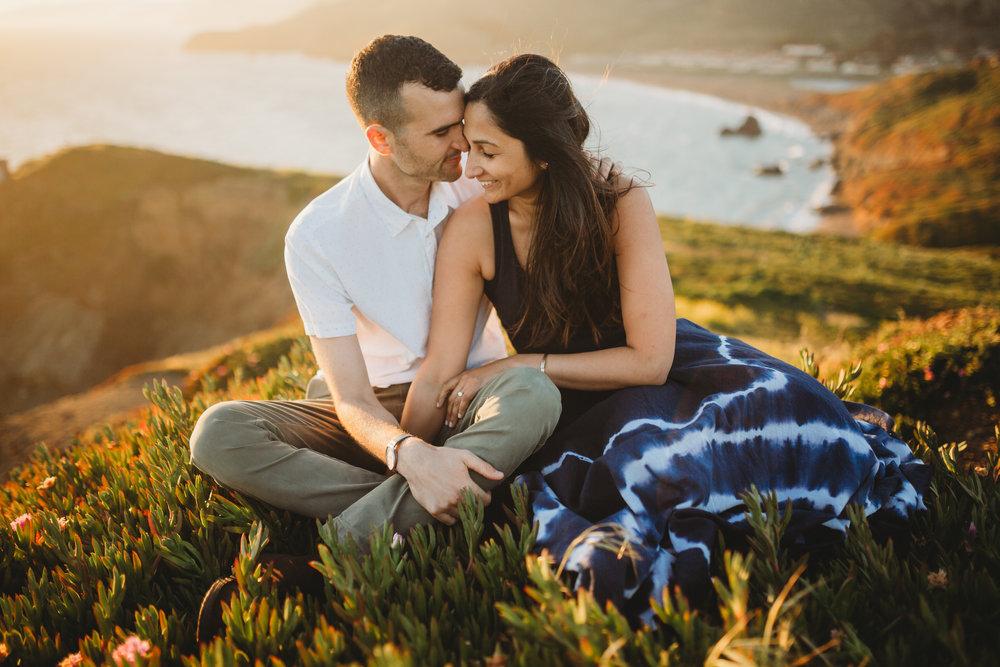 Nivi + Daniel -- Marin Headlands Engagement Session -- Whitney Justesen Photography-157.jpg