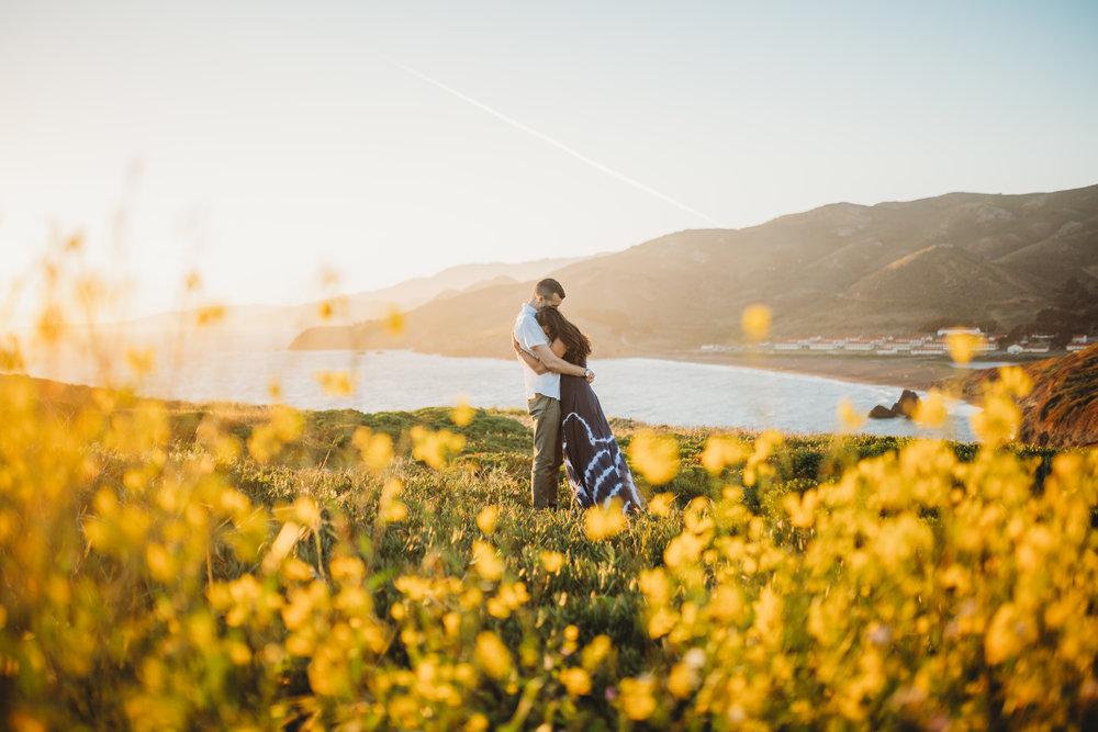 Nivi + Daniel -- Marin Headlands Engagement Session -- Whitney Justesen Photography-170.jpg
