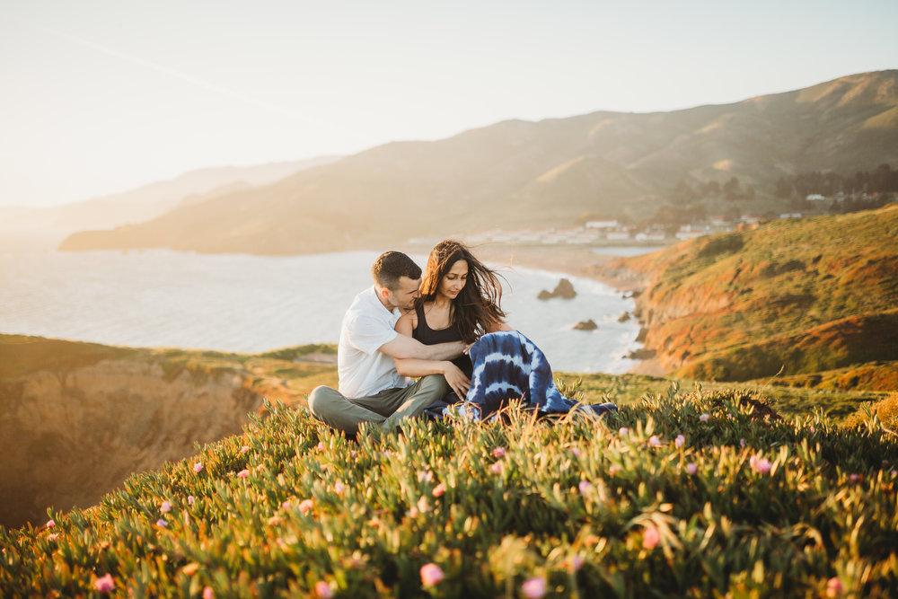 Nivi + Daniel -- Marin Headlands Engagement Session -- Whitney Justesen Photography-154.jpg