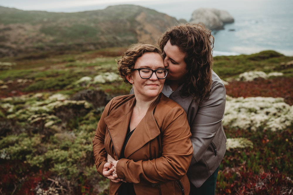 Marika + Ana Paula -- Marin Headlands Engagements -- Whitney Justesen Photography-55.jpg
