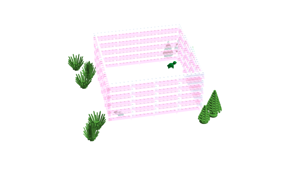 Turtle garden.