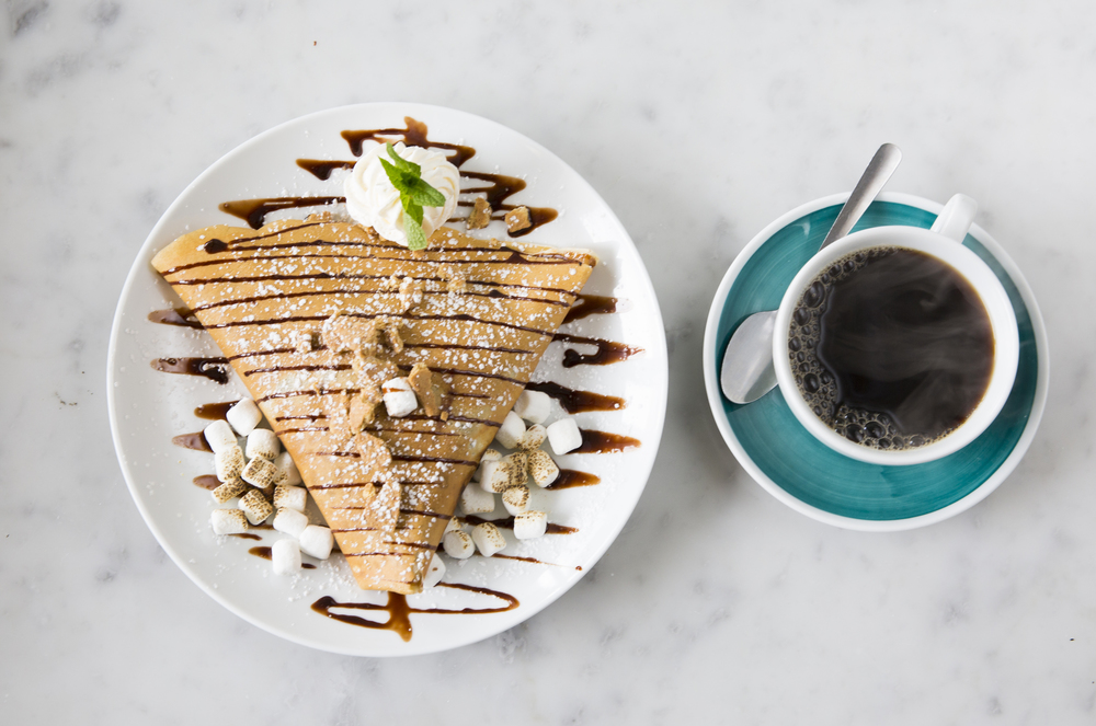S´mores Crêpe and Coffee