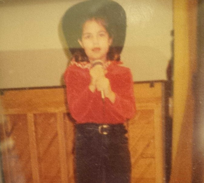 First time I ever performed on stage... Cater Elementary in Temple, Texas circa 1996... Who knew? Let's hope this little cowgirl would be proud