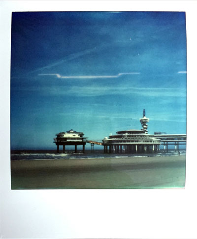 The Pier (Polaroid SX-70 and Impossible Project colour film)