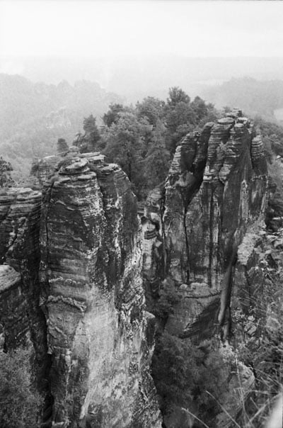 Bastei, Germany (Minolta Dynax 505i and Kentmere 400)