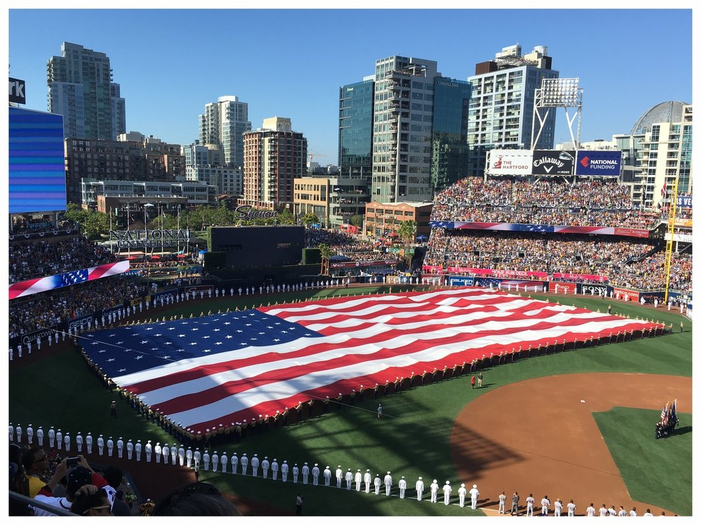 2016 MLB All-Star Game at Petco Park  Photo By: Katelyn Roth